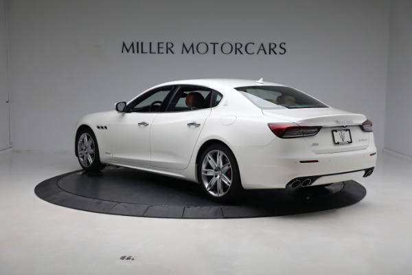 New 2021 Maserati Quattroporte S Q4 GranLusso for sale $120,599 at Alfa Romeo of Greenwich in Greenwich CT 06830 5