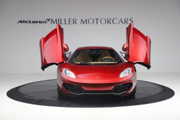 Used 2012 McLaren MP4-12C for sale Call for price at Alfa Romeo of Greenwich in Greenwich CT 06830 12