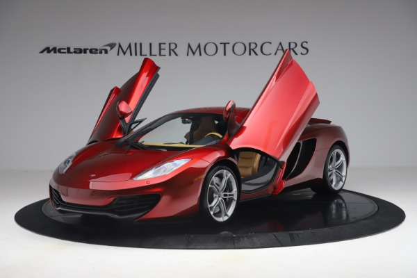 Used 2012 McLaren MP4-12C for sale Call for price at Alfa Romeo of Greenwich in Greenwich CT 06830 13
