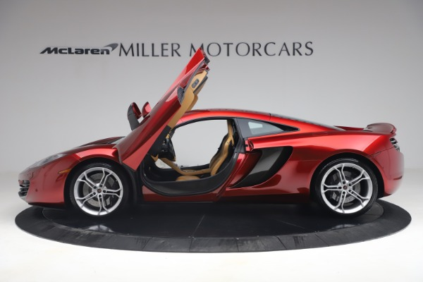 Used 2012 McLaren MP4-12C for sale Call for price at Alfa Romeo of Greenwich in Greenwich CT 06830 14
