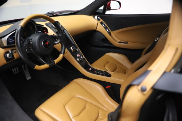 Used 2012 McLaren MP4-12C for sale Call for price at Alfa Romeo of Greenwich in Greenwich CT 06830 15