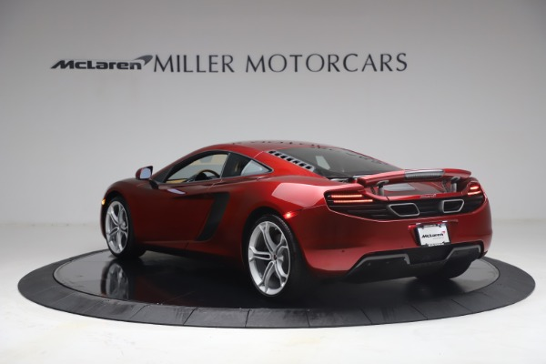 Used 2012 McLaren MP4-12C for sale Call for price at Alfa Romeo of Greenwich in Greenwich CT 06830 4