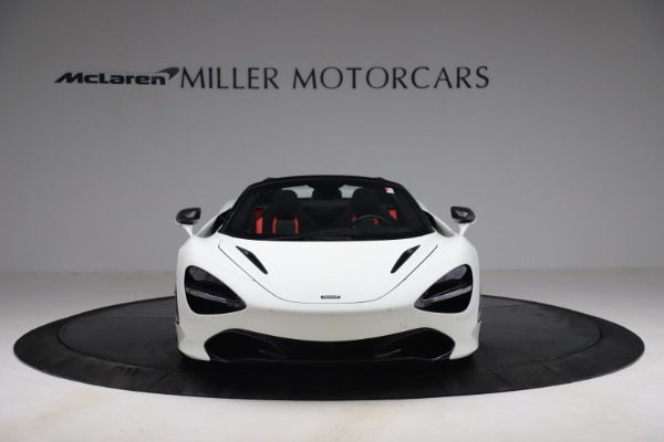 New 2021 McLaren 720S Spider for sale $366,670 at Alfa Romeo of Greenwich in Greenwich CT 06830 10