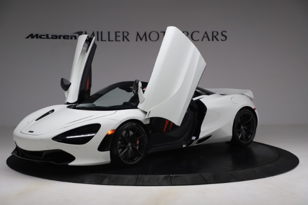 New 2021 McLaren 720S Spider for sale $366,670 at Alfa Romeo of Greenwich in Greenwich CT 06830 12