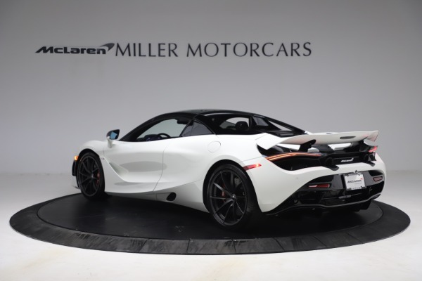 New 2021 McLaren 720S Spider for sale $366,670 at Alfa Romeo of Greenwich in Greenwich CT 06830 15