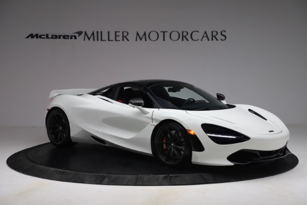 New 2021 McLaren 720S Spider for sale $366,670 at Alfa Romeo of Greenwich in Greenwich CT 06830 19