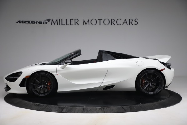 New 2021 McLaren 720S Spider for sale $366,670 at Alfa Romeo of Greenwich in Greenwich CT 06830 2
