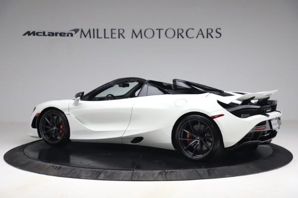 New 2021 McLaren 720S Spider for sale $366,670 at Alfa Romeo of Greenwich in Greenwich CT 06830 3
