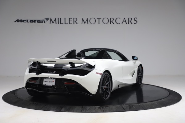 New 2021 McLaren 720S Spider for sale $366,670 at Alfa Romeo of Greenwich in Greenwich CT 06830 6