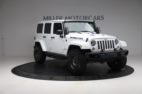 Used 2015 Jeep Wrangler Unlimited Rubicon Hard Rock for sale $39,900 at Alfa Romeo of Greenwich in Greenwich CT 06830 11