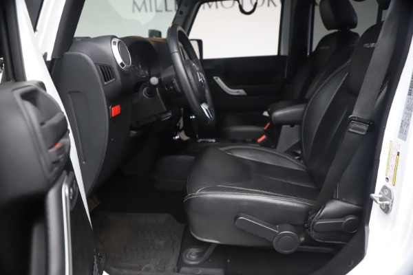 Used 2015 Jeep Wrangler Unlimited Rubicon Hard Rock for sale $39,900 at Alfa Romeo of Greenwich in Greenwich CT 06830 15