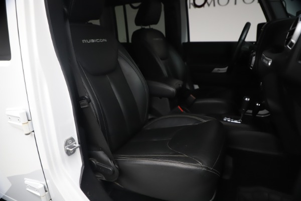 Used 2015 Jeep Wrangler Unlimited Rubicon Hard Rock for sale $39,900 at Alfa Romeo of Greenwich in Greenwich CT 06830 19