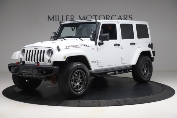 Used 2015 Jeep Wrangler Unlimited Rubicon Hard Rock for sale $39,900 at Alfa Romeo of Greenwich in Greenwich CT 06830 2