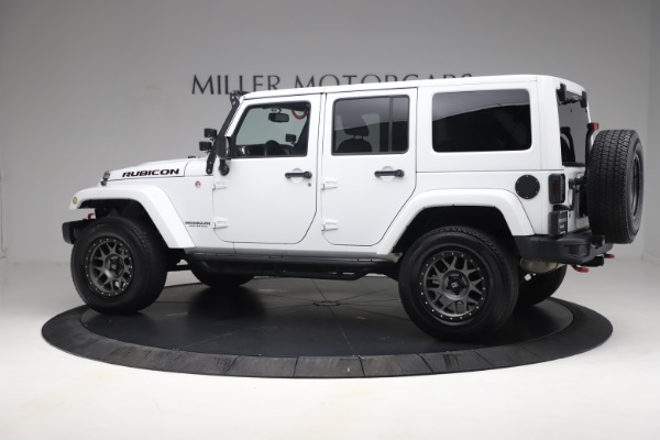 Used 2015 Jeep Wrangler Unlimited Rubicon Hard Rock for sale $39,900 at Alfa Romeo of Greenwich in Greenwich CT 06830 4