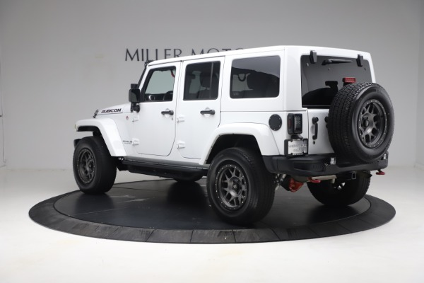Used 2015 Jeep Wrangler Unlimited Rubicon Hard Rock for sale $39,900 at Alfa Romeo of Greenwich in Greenwich CT 06830 5