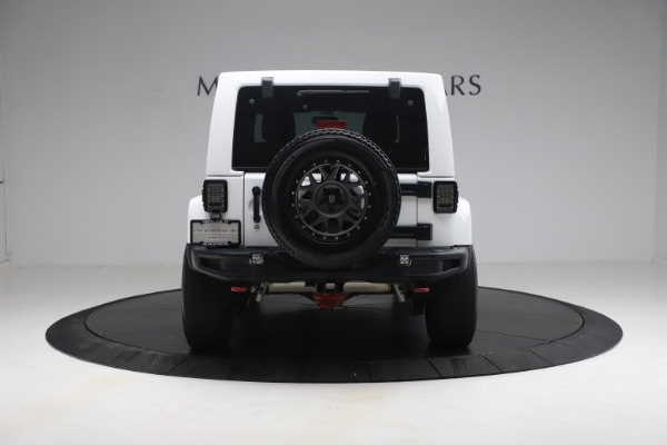 Used 2015 Jeep Wrangler Unlimited Rubicon Hard Rock for sale $39,900 at Alfa Romeo of Greenwich in Greenwich CT 06830 6