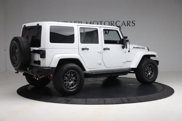 Used 2015 Jeep Wrangler Unlimited Rubicon Hard Rock for sale $39,900 at Alfa Romeo of Greenwich in Greenwich CT 06830 8