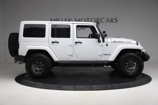 Used 2015 Jeep Wrangler Unlimited Rubicon Hard Rock for sale $39,900 at Alfa Romeo of Greenwich in Greenwich CT 06830 9