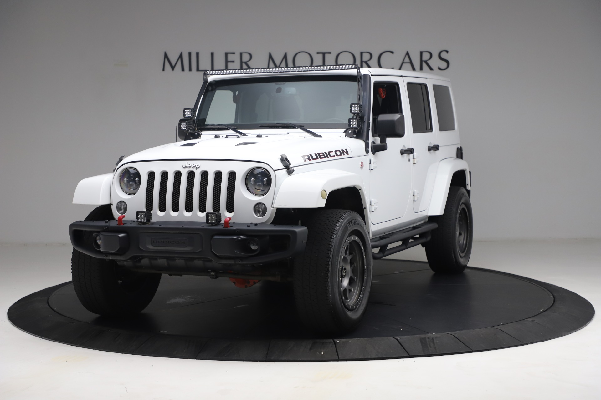 Used 2015 Jeep Wrangler Unlimited Rubicon Hard Rock for sale $39,900 at Alfa Romeo of Greenwich in Greenwich CT 06830 1