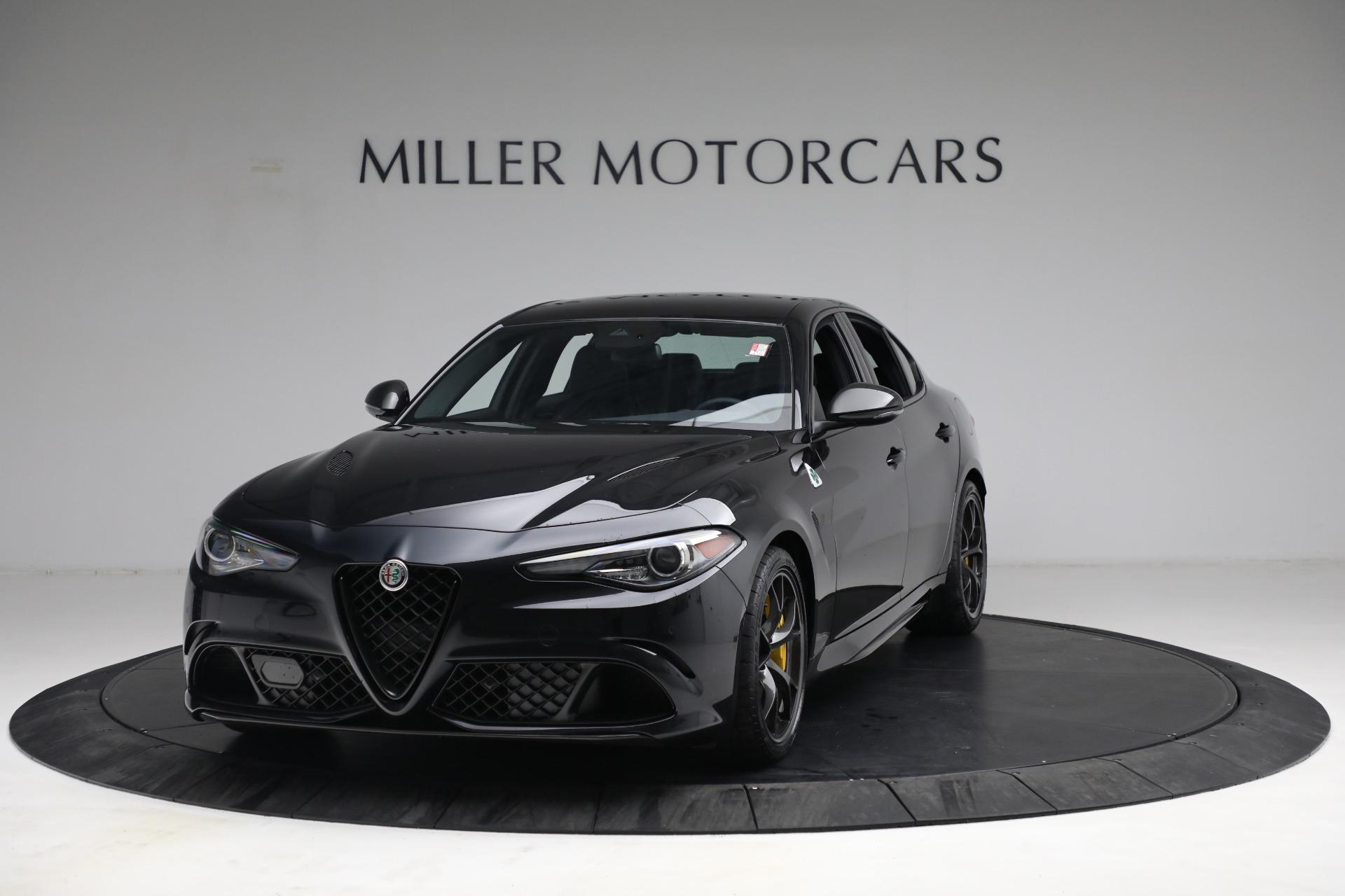 New 2021 Alfa Romeo Giulia Quadrifoglio for sale $81,505 at Alfa Romeo of Greenwich in Greenwich CT 06830 1