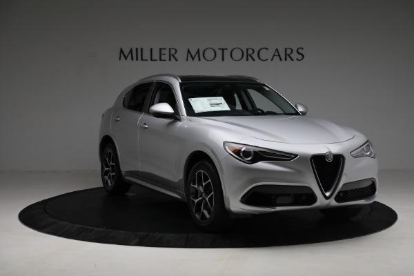 New 2021 Alfa Romeo Stelvio Ti Q4 for sale Sold at Alfa Romeo of Greenwich in Greenwich CT 06830 11