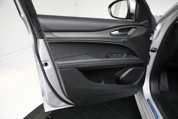 New 2021 Alfa Romeo Stelvio Ti Q4 for sale Sold at Alfa Romeo of Greenwich in Greenwich CT 06830 12