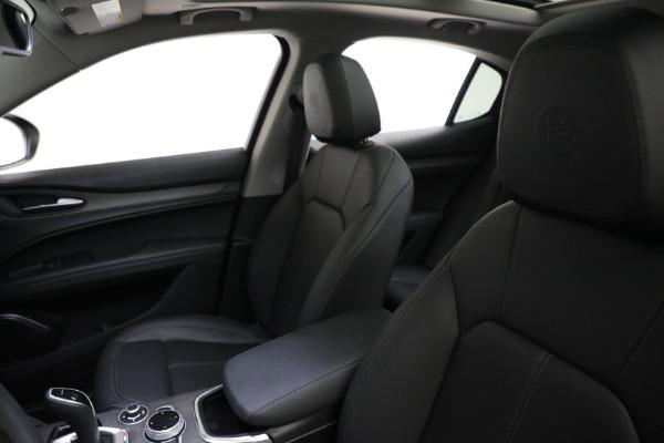 New 2021 Alfa Romeo Stelvio Ti Q4 for sale Sold at Alfa Romeo of Greenwich in Greenwich CT 06830 15