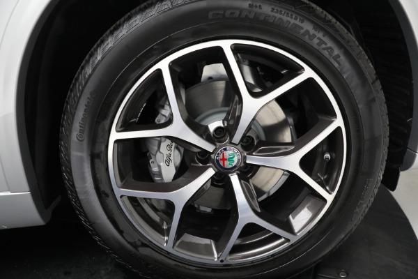 New 2021 Alfa Romeo Stelvio Ti Q4 for sale Sold at Alfa Romeo of Greenwich in Greenwich CT 06830 19