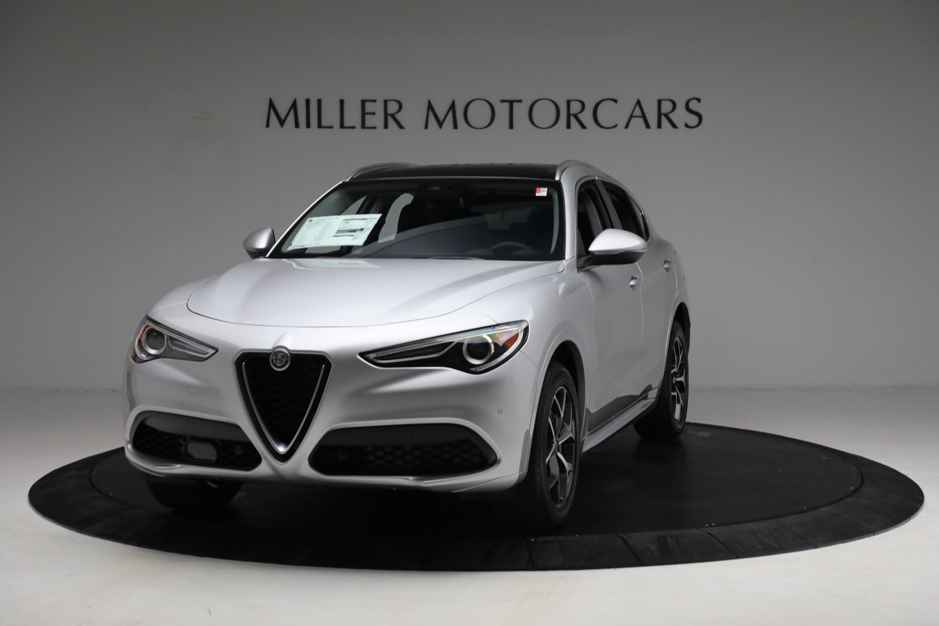 New 2021 Alfa Romeo Stelvio Ti Q4 for sale Sold at Alfa Romeo of Greenwich in Greenwich CT 06830 1