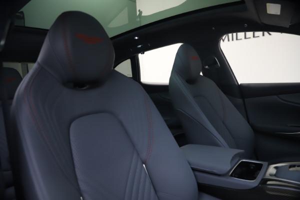 New 2021 Aston Martin DBX for sale $210,786 at Alfa Romeo of Greenwich in Greenwich CT 06830 21
