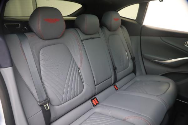New 2021 Aston Martin DBX for sale $210,786 at Alfa Romeo of Greenwich in Greenwich CT 06830 22