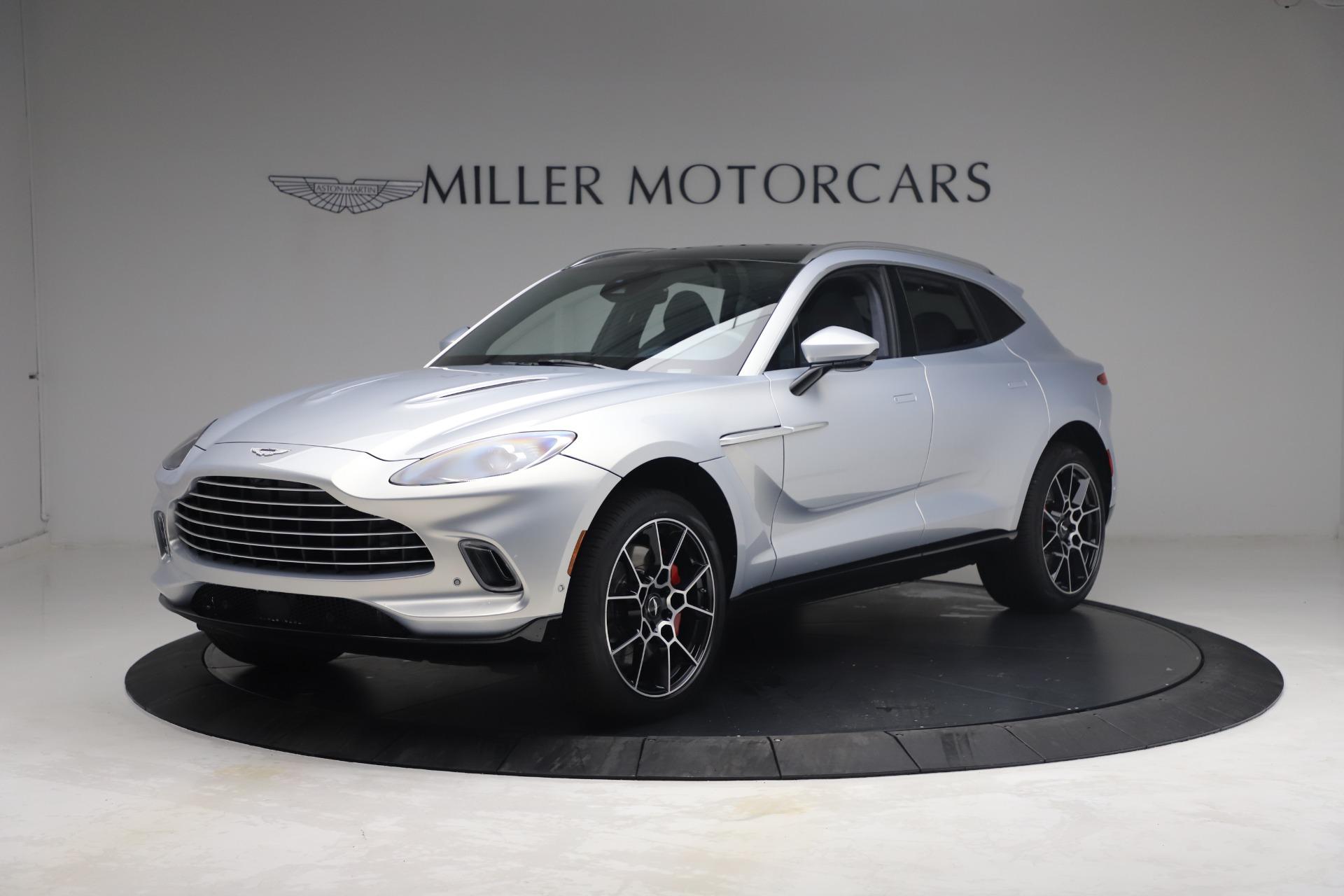New 2021 Aston Martin DBX for sale $210,786 at Alfa Romeo of Greenwich in Greenwich CT 06830 1