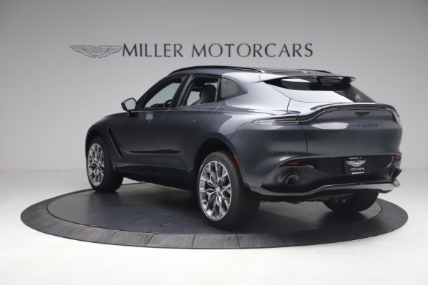 New 2021 Aston Martin DBX for sale $208,786 at Alfa Romeo of Greenwich in Greenwich CT 06830 4