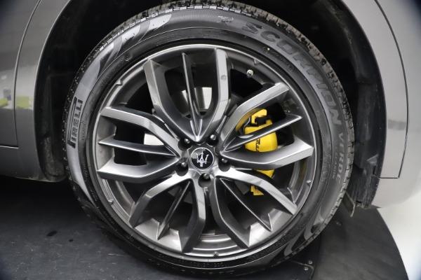 New 2021 Maserati Levante GranSport for sale $73,900 at Alfa Romeo of Greenwich in Greenwich CT 06830 27
