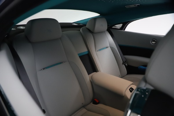 Used 2021 Rolls-Royce Wraith KRYPTOS for sale $444,275 at Alfa Romeo of Greenwich in Greenwich CT 06830 18