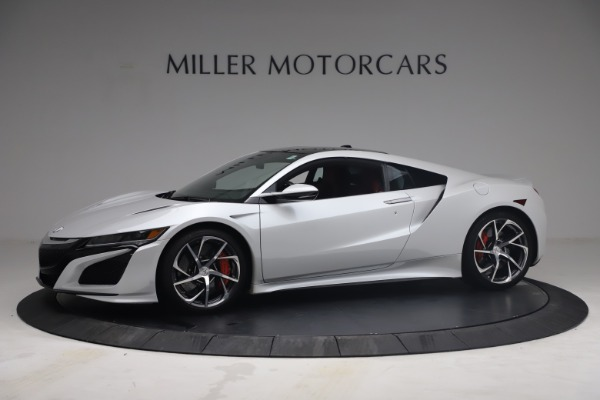 Used 2017 Acura NSX SH-AWD Sport Hybrid for sale $139,900 at Alfa Romeo of Greenwich in Greenwich CT 06830 2