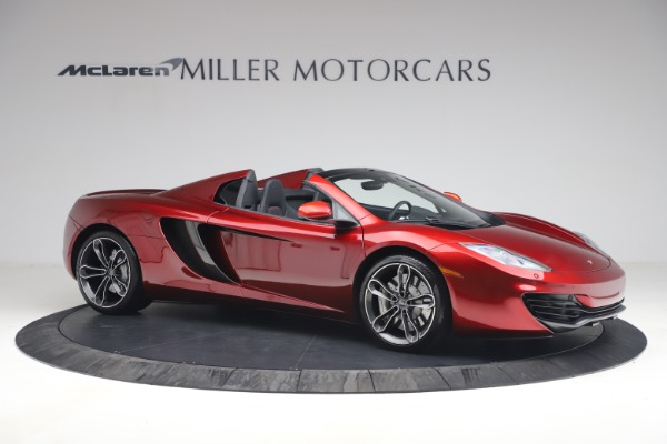 Used 2013 McLaren MP4-12C Spider for sale $134,900 at Alfa Romeo of Greenwich in Greenwich CT 06830 10
