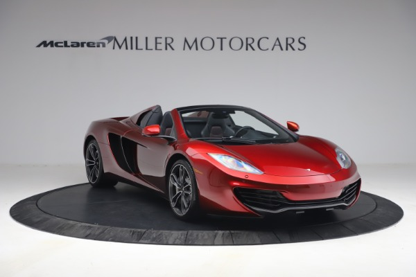 Used 2013 McLaren MP4-12C Spider for sale $134,900 at Alfa Romeo of Greenwich in Greenwich CT 06830 11