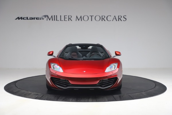 Used 2013 McLaren MP4-12C Spider for sale $134,900 at Alfa Romeo of Greenwich in Greenwich CT 06830 12