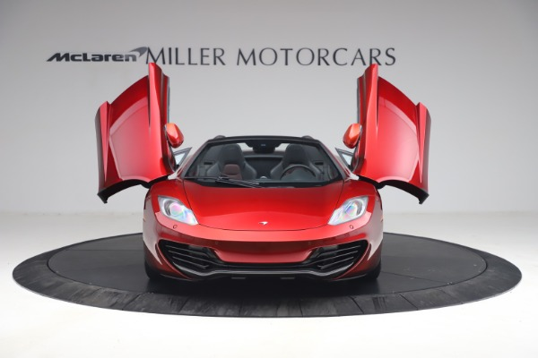 Used 2013 McLaren MP4-12C Spider for sale $134,900 at Alfa Romeo of Greenwich in Greenwich CT 06830 13