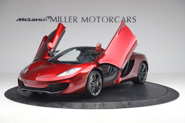 Used 2013 McLaren MP4-12C Spider for sale $134,900 at Alfa Romeo of Greenwich in Greenwich CT 06830 14