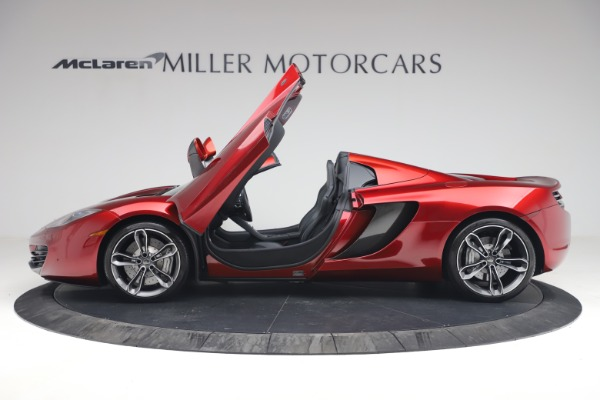 Used 2013 McLaren MP4-12C Spider for sale $134,900 at Alfa Romeo of Greenwich in Greenwich CT 06830 15