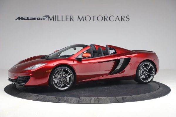 Used 2013 McLaren MP4-12C Spider for sale $134,900 at Alfa Romeo of Greenwich in Greenwich CT 06830 2