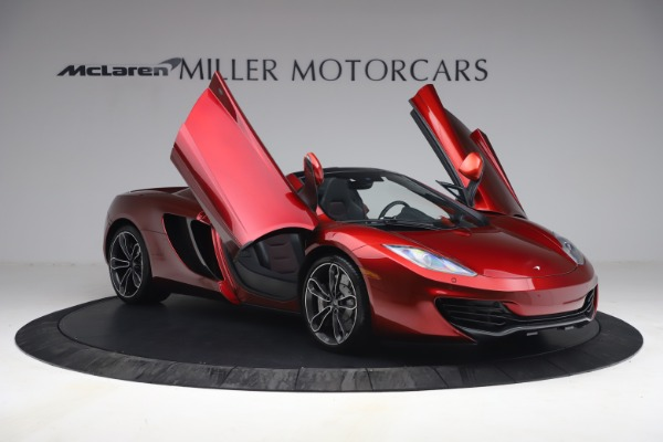 Used 2013 McLaren MP4-12C Spider for sale $134,900 at Alfa Romeo of Greenwich in Greenwich CT 06830 20
