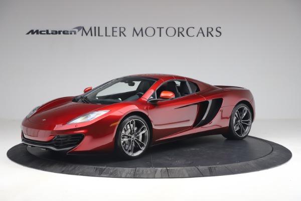 Used 2013 McLaren MP4-12C Spider for sale $134,900 at Alfa Romeo of Greenwich in Greenwich CT 06830 23