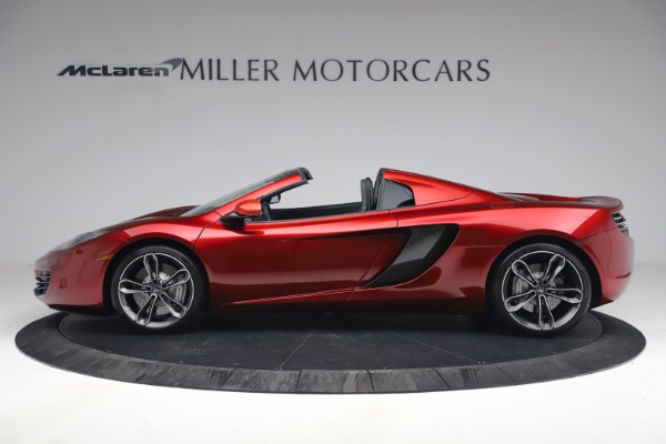 Used 2013 McLaren MP4-12C Spider for sale $134,900 at Alfa Romeo of Greenwich in Greenwich CT 06830 3