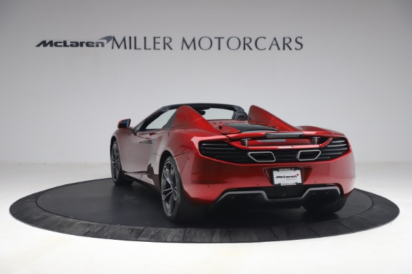 Used 2013 McLaren MP4-12C Spider for sale $134,900 at Alfa Romeo of Greenwich in Greenwich CT 06830 5