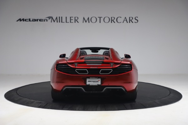 Used 2013 McLaren MP4-12C Spider for sale $134,900 at Alfa Romeo of Greenwich in Greenwich CT 06830 6