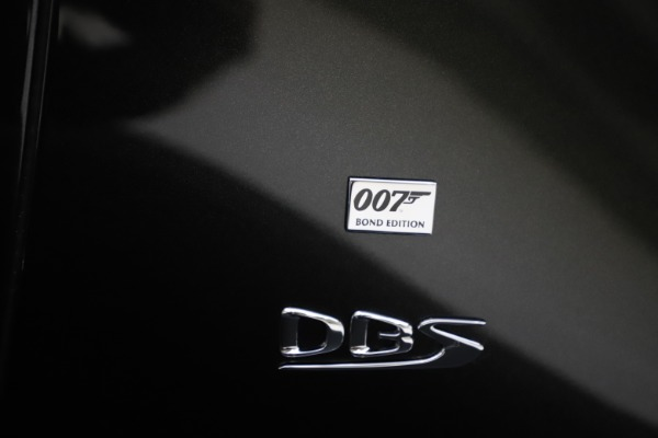 New 2021 Aston Martin DBS Superleggera 007 for sale $391,211 at Alfa Romeo of Greenwich in Greenwich CT 06830 26