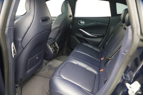 New 2021 Aston Martin DBX for sale $195,786 at Alfa Romeo of Greenwich in Greenwich CT 06830 18